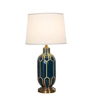 Amerikanische Keramik Tischlampe Schlafzimmer Wohnzimmer Hotel