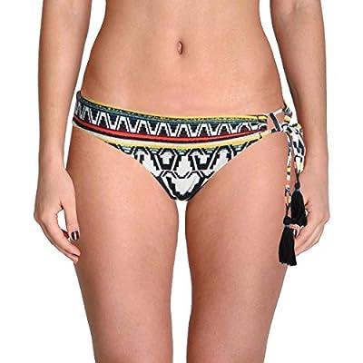 Becca by Rebecca Virtue Women's Side Tie Hipster Bikini Bottom Multi S