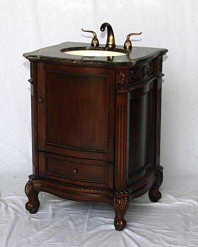 26-Inch Antique Style Single Sink Bathroom Vanity Model 2192-MXC ()