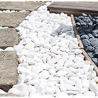Beyaz Dolomit Doğal Dekoratif Taş 4-6 cm 50 kg