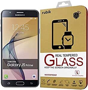 For Samsung Galaxy J5 Prime - Rubik Full Curved 3D Tempered Glass Screen Protector For Samsung Galaxy J5 Prime - Gold
