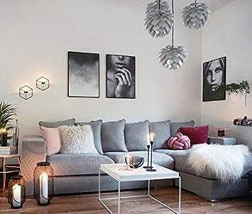 Amaris Elements Moore Ecksofa Inkl 6 Kissen Samt Sofa Aus
