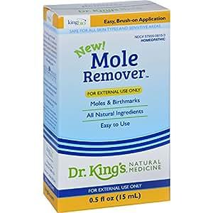 King Bio Mole Remover Natural Medicine, 0.5 Fluid Ounce
