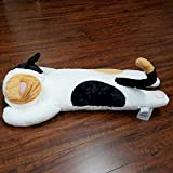 "Tokyo Japanese Gift - Long Body Pillow Small 26"" Long (Tri-Color Cat)"