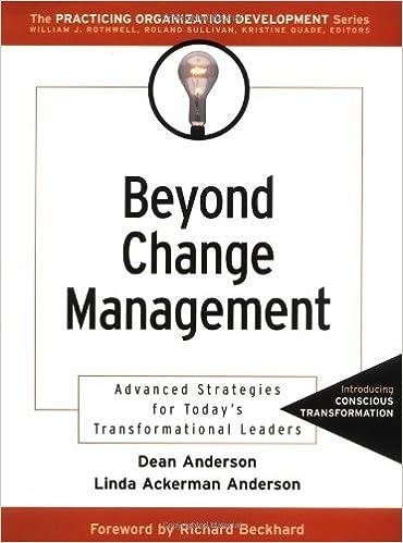 Amazon.com: Beyond Change Management: Advanced Strategies for ...