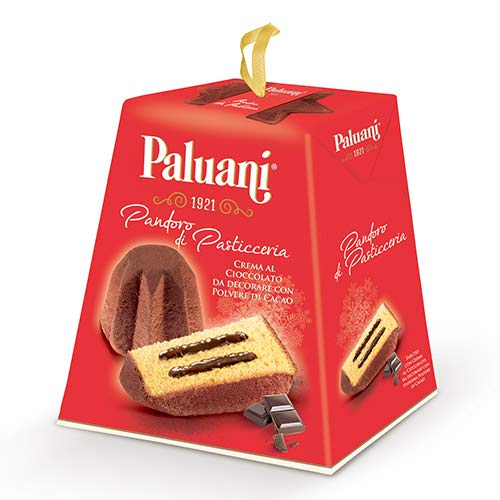 Pandoro Filled with Chocolate Cream by Paluani (750 gram) -