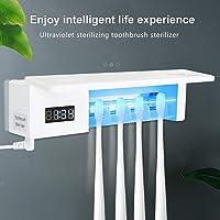 ONEVER Portacepillos de Dientes eléctrico Esterilizador UV 4