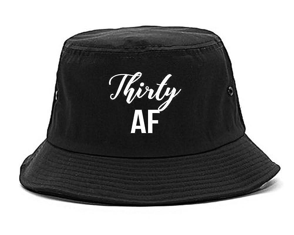 Amazon Thirty AF Birthday Bucket Hat Black Clothing
