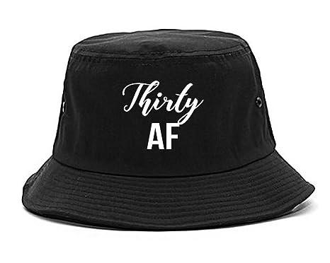 Thirty AF Birthday Bucket Hat Black