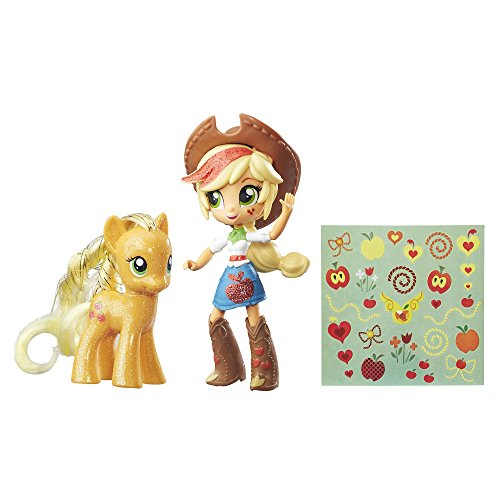My Little Pony Applejack Toys - Glitter Pony & Equestria Gir