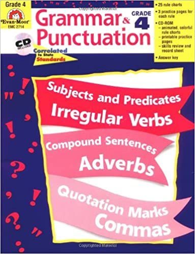 Amazon.com: Grammar and Punctuation, Grade 4 (0023472027146): Evan ...
