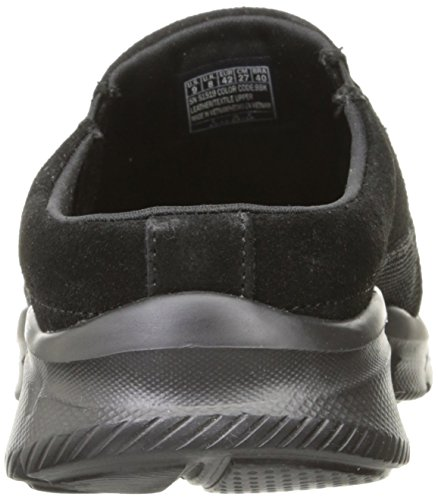 Skechers Equalizer to Coast, Baskets Homme Noir (BBK)