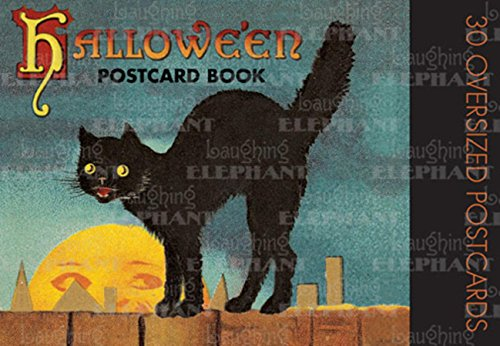 Halloween Postcard Book -