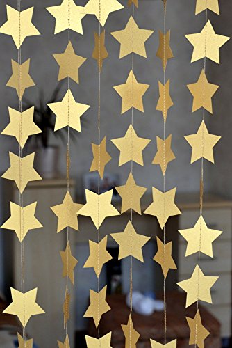 sunbeauty-13feet-five-pointed-star-string-paper-garland-hanging-decoration-wedding-birthday-party-ba