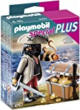 Playmobil Especiales Plus - Pirata con cofre del tesoro (4767)