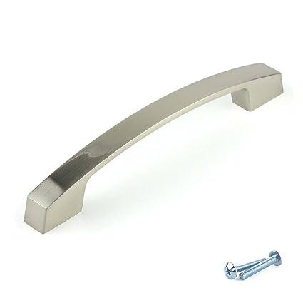 M4TEC set da 5 maniglie curve per ante armadio, per mobili cucina ...