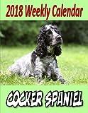 2018 Weekly Calendar  Cocker Spaniel