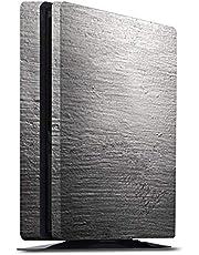 DeinDesign Skin kompatibel mit Sony Playstation 4 Slim PS4 Aufkleber Folie Sticker Beton Concrete Wand