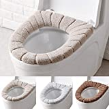 CALISTOUS Bathroom Toilet Seat Cushion Closestool Washable Soft Warmer Mat Cover