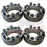 Set of Four (4) Wheel Spacers - 6x5.5 (6x139.7mm) - 2.0 inch thick - Fit Chevy and GMC, Blazer, Jimmy, Landcruiser, Tacoma, Xterra, [5284-A4] by 50 Caliber Racing