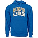 Levelwear 00PC73DS0066F05001UHEAROY3LRG Men's Winnipeg Bombers Peyton Performance Arch Hoodie, Blue Large