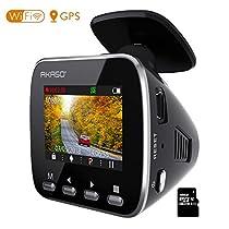 AKASO ドライブレコーダー 1296PフルHD 高画素 ドラレコ GPS搭...