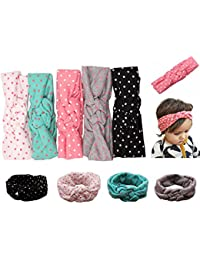 Mookiraer Baby Girl Newest Turban Headband Head Wrap...