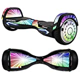 MightySkins Protective Vinyl Skin Decal for Razor Hovertrax 2.0 Hover Board Self-Balancing Smart Scooter wrap cover sticker skins Rainbow Explosion