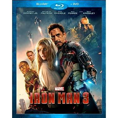 Iron Man 3 (Blu-ray + DVD)