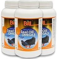 Seal Oil OMEGA-3 300 Capsules (x3 Bottles) by Bill