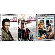 Clint Eastwood icon Pale Rider & Outlaw Josey Wales + John Wayne Collection Western Collection The Dawn Rider / The Lawless Frontier / Sagebrush Trail DVD Set