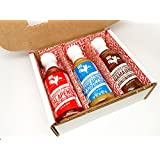 Jalapeño, Pineapple, Hamajang Smoked Ghost Pepper - Adoboloco Hot Sauce - 3, 5oz Bottle Variety Pack