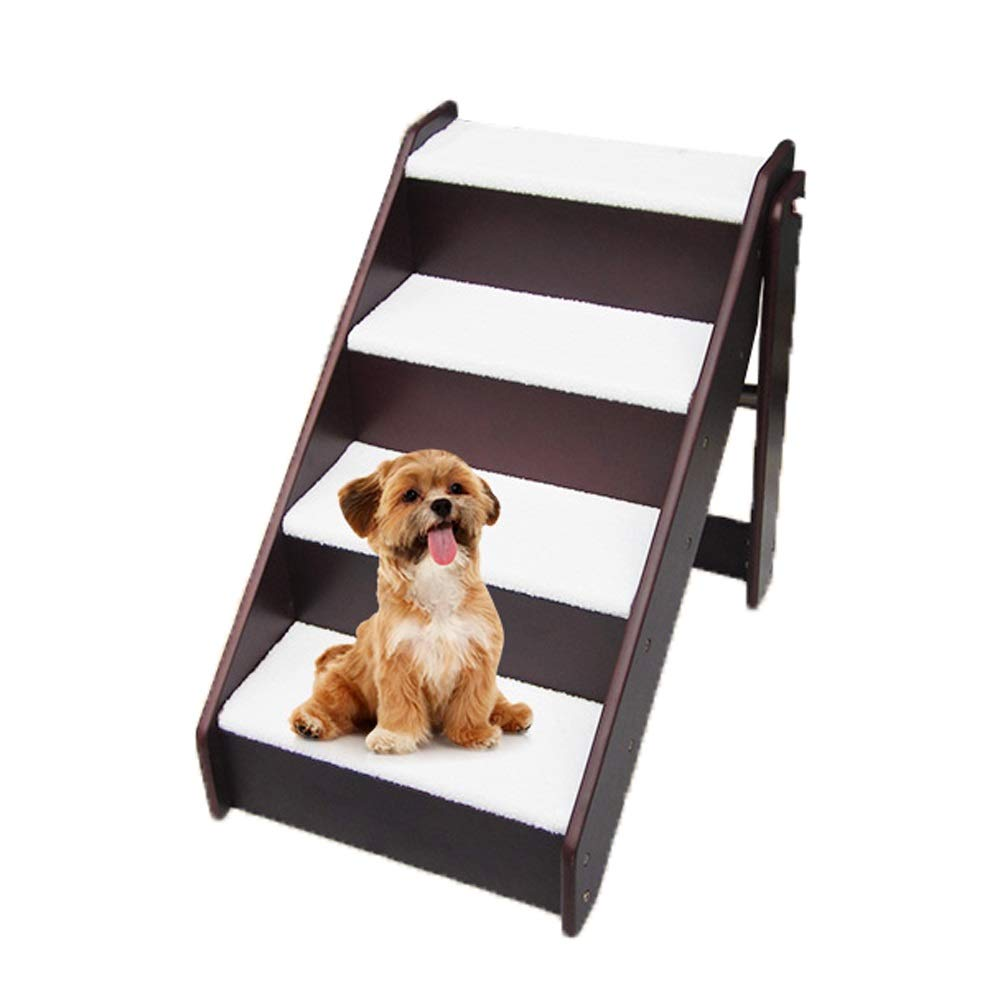 Jia He Pet Stairs Pet Stair Step Ladder Dog Ladder Step Wooden Ladder pet Training Bed Ladder @@