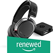 SteelSeries Arctis Pro Wireless Gaming Headset - Lossless High Fidelity Wireless + Bluetooth for PS4 and PC (Renewed)