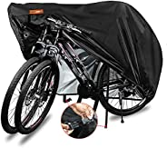 Indeed BUY Bike Cover for 2 Bikes Waterproof Bicycle Cover Outdoor Bike Storage Covers XL 420D Heavy Duty Rain