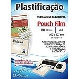 Plastico Para Plastificacao Pouch Film A4 220X307 (0,05) Conj/20 Mares