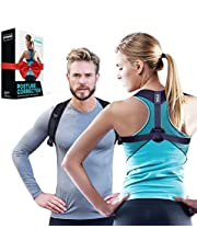 DYNMC you Geradehalter zur Haltungskorrektur - Damen & Herren - Rückenstütze eine Größe vorne stufenlos verstellbar - Posture Corrector für gerader Rücken