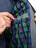 William Murray Fine Chap Harrington Jacket Charcoal