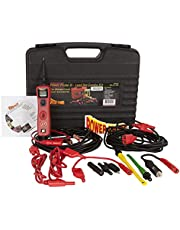POWER PROBE III Circuit Tester w/ Lead Set Kit (PP3LS01) [Car Diagnostic Test Tool, Digital Voltmeter, Supplies Power or Ground, Continuity Tester]