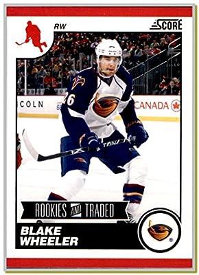 2010-11 Score Rookie and Traded #573 Blake Wheeler ATLANTA THRASHERS JETS