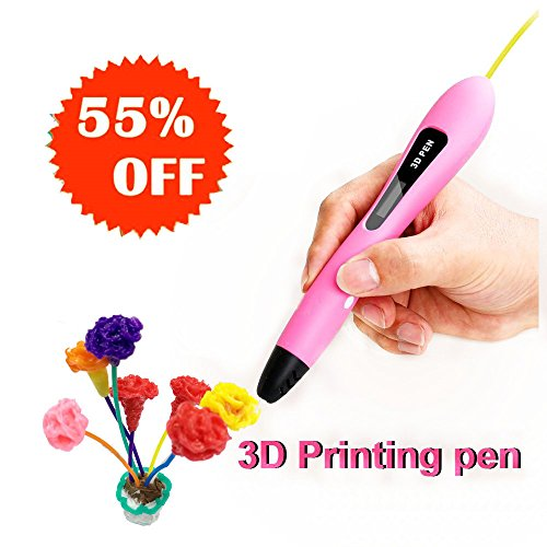 3D Drawing Printing Doodler Pens, best birthday presents for kids teen girls 5 6 7 8 9 10 years old, Clean PCL Refills, Low Temperature Nib, Create Arts and Crafts, Creative Toys to Keep Kids Busy by Sundi