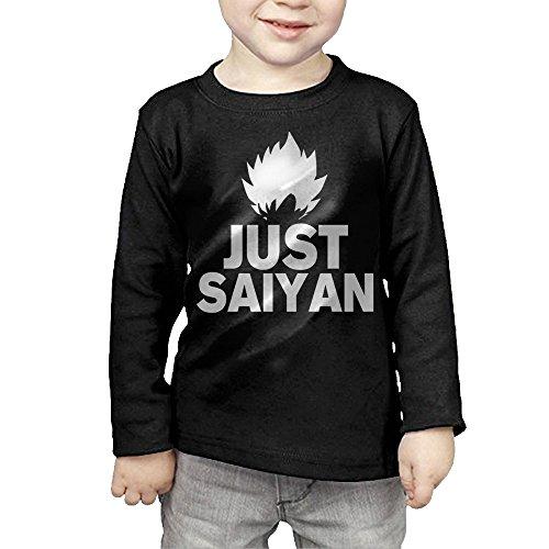 MHGJ Kid's Boy's & Girl's Son Goku DBZ Japanese Comic Character LOGO Long Sleeve Shirt 5-6 Toddler
