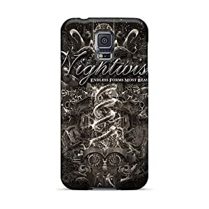 ElijahFenn Samsung Galaxy S5 Protector Hard Cell-phone Cases Allow Personal Design High-definition Machine Head Band Image [oLm2022vVSY]