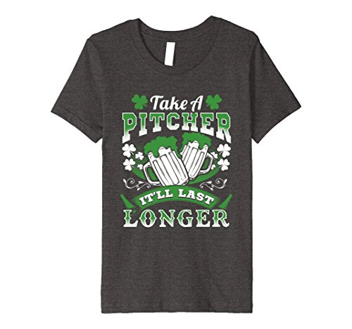 Kids Irish Beer Drinking Premium Shirt Funny St Pat's Day Tee 6 Dark (St Pats Day)