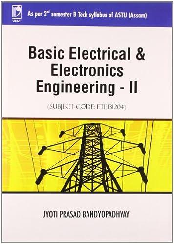Amazon.in: Buy Basic Electrical and Electronics Engineering - II ...