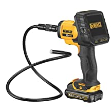 12-Volt Max Li-Ion 9mm Inspection Camera with Wireless Screen (DCT411S1)