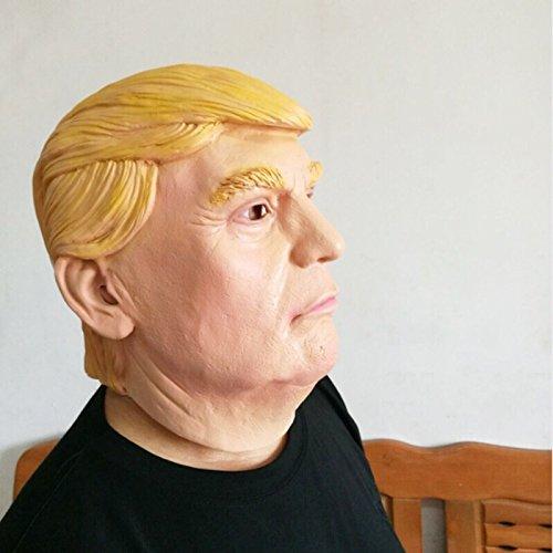 Talla /única Unisex thematys/® Donald IGLH0159/Trump M/áscara/ /& Halloween/ /Disfraz para Adultos/ /Perfecto para Carnaval /L/átex