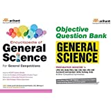 COMBO OF Encyclopedia of General Science AND Objective Question Bank GENERAL SCIENCE FOR General Competitions 2019 EXAMIANTION