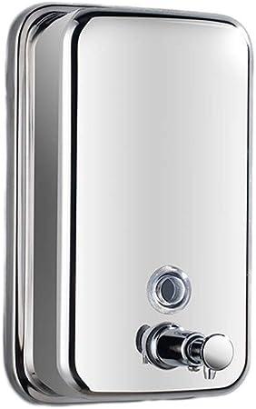 SMX Manuale Acciaio Inox Dispenser di Sapone Hotel a Parete Dispenser di Sapone Bottiglia Dispenser di Sapone Soap Dispenser Box Mano Soap Dispenser Size : 500ML