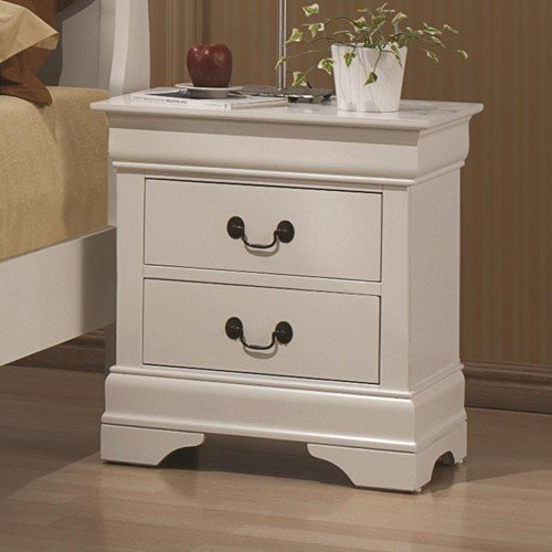 5 Pc Elizabeth Twin Bedroom Collection Bed, Dresser, Chest, Mirror, Nightstand by R&R (Image #1)